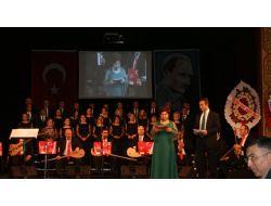 Sgk Türk Halk Müziği Korosu, Şehitler Haftası Dolayısıyla Konser Verdi