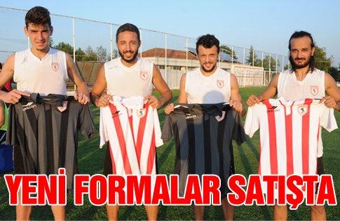 Samsunspor'un Yeni Formaları Satışta