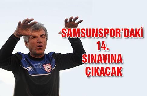 Erhan Altın Samsunspor'daki 14. Sınavına Çıkacak