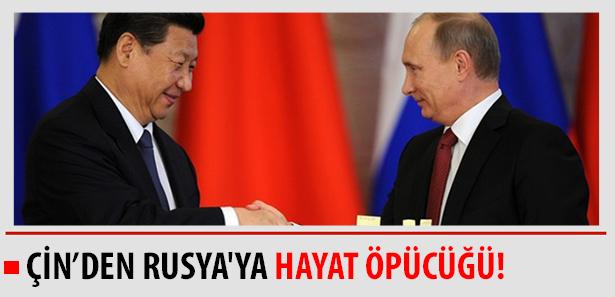 Çin, Rusyaya Yardım Eli Uzatıyor!