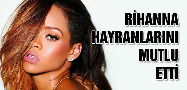 Rihanna Hayranlarını Heyecanlandırdı