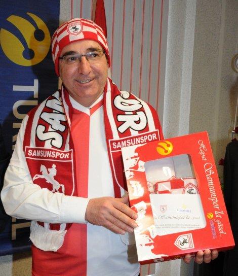 HATTINI TAŞIYANA 'SAMSUNSPOR PAKETİ'