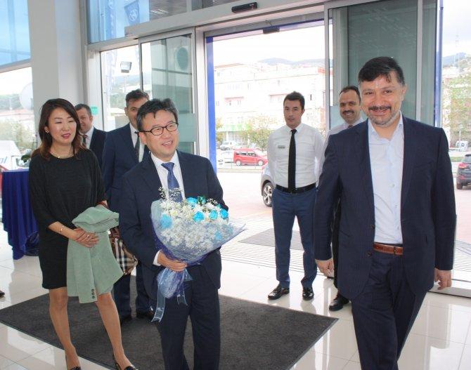 Hyundai Türkiye Başkanı Samsun Bayisi Kamer Otomotivi Ziyaret Etti